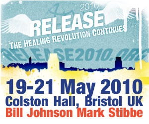 Release2010 - A Christian Healing Conference 19-21 May at The Colston Hall in Bristol UK